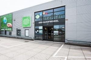 Kringloopwinkel Rataplan Haarlem Werfstraat pand