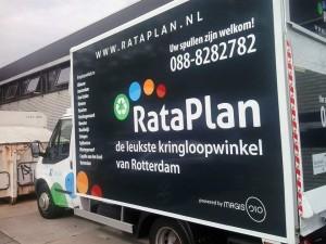 Ophaalwagen Kringloopwinkel Rataplan Rotterdam