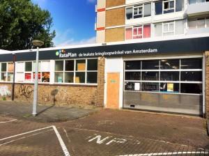 Kringloopwinkel Rataplan Willem Roelofsstraat pand