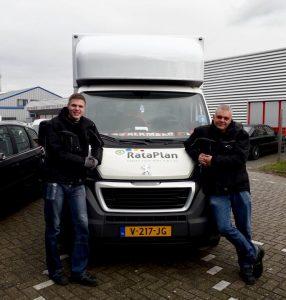 Even voorstellen: chauffeur Patrick en bijrijder David uit Schagen