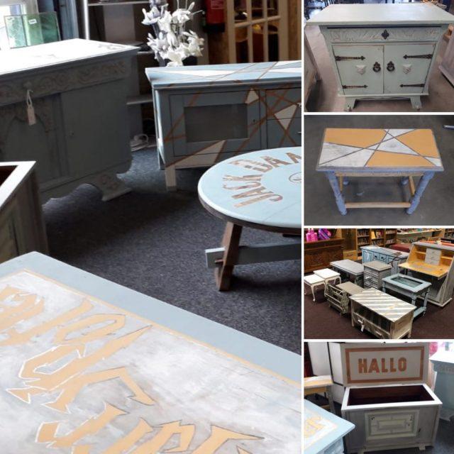 Noorderkwartier blaast nieuw leven in oude meubeltjes – upcycling project